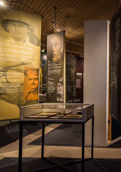 FOR US THEY FELL | Waikato Museum