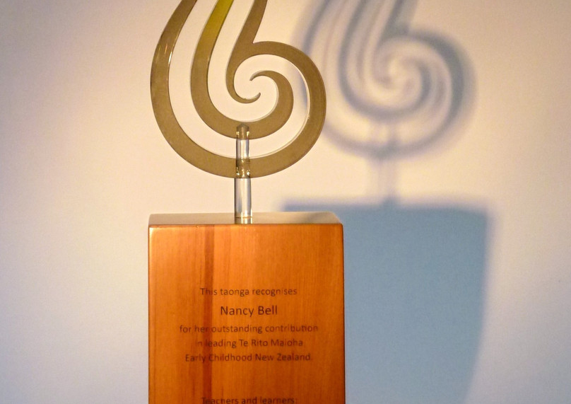 EARLY CHILDHOOD NEW ZEALAND RECOGNITION AWARD