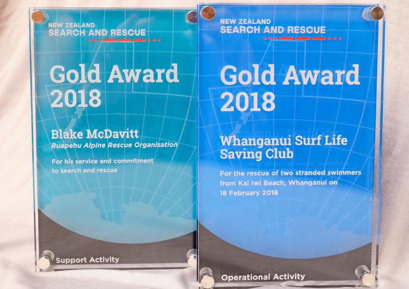 NEW ZEALAND SEARCH AND RESCUE AWARDS