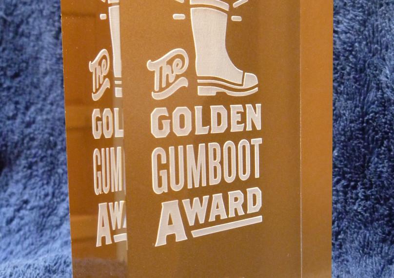 THE GOLDEN GUMBOOT AWARDS