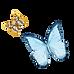 Watercolor Butterfly 1