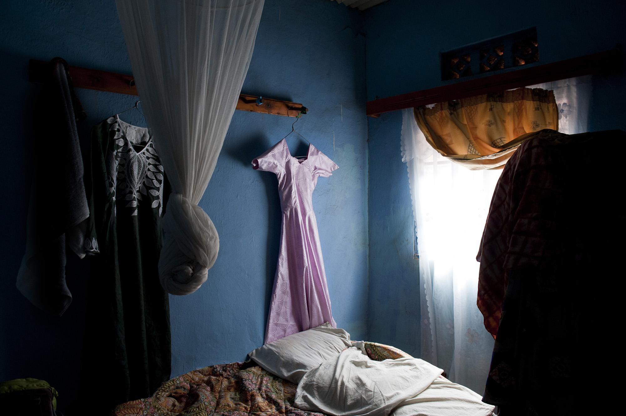 Godelieve's pink dress