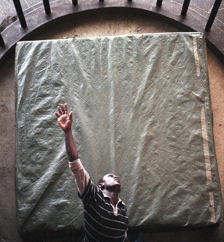 Stephen Otieno  at Sarakasi Dome
