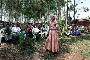 Kamonyi, Rwanda, February 2014, Godeliev