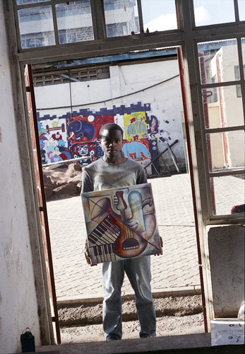 Patrick Karioki at Go Down Art Cente
