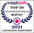 travelmyth top accommodation award in moffat
