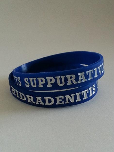 Hidradenitis Suppurativa silicon wristband