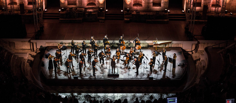 First post lockdown concerts: Bartok and Vivaldi at Odeon of Herodes Atticus