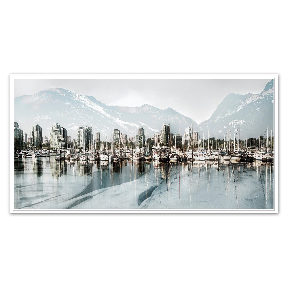 Coal Harbour Icescape (SOLD)