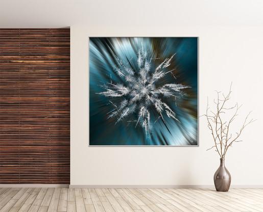 Snowflake Kaleidoscope - Ice