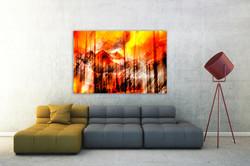 Glacier Bowl - Fire Sky