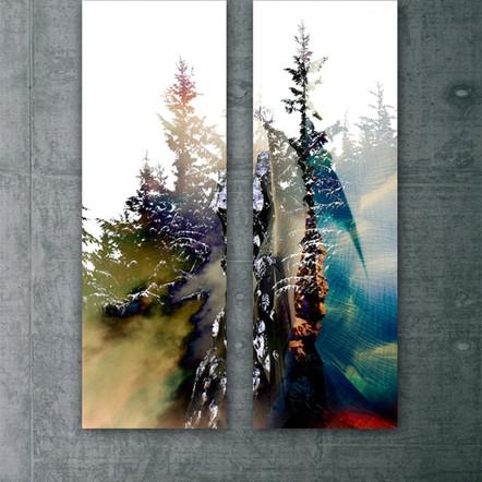 Trees in the Alpine - Set