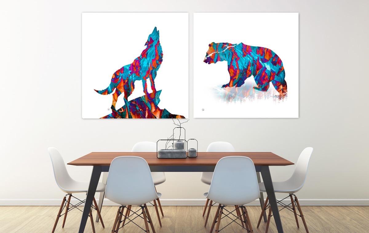 Florencia Wolf & Spirit Bear