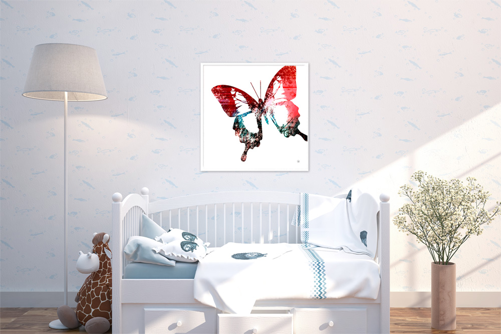 Spirit Butterfly - Rose