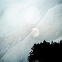 Moonrise on the Salish Sea