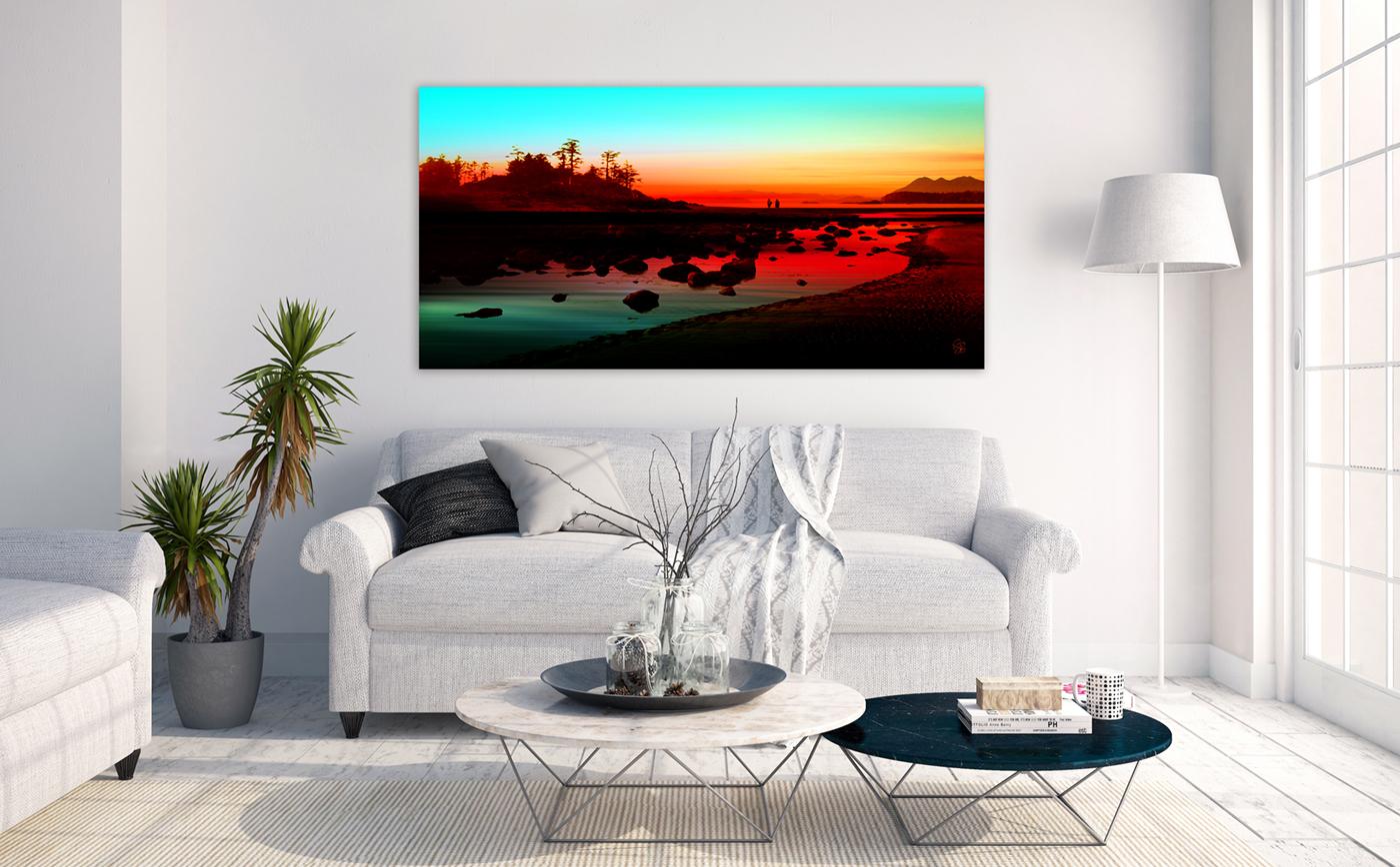Frank Island Sunset