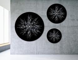 Treeflakes - Snowy Trees (Circular)
