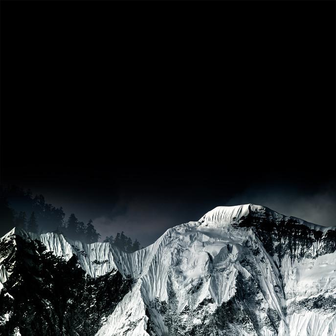 Himalayas at Night