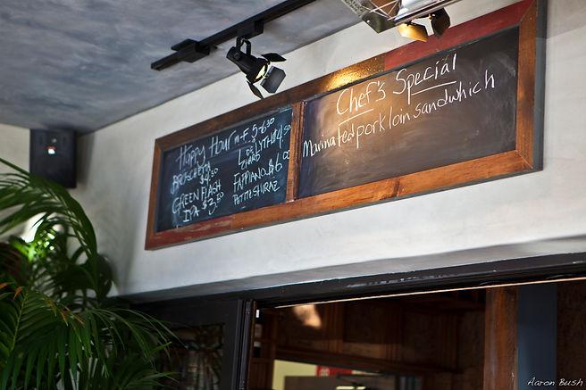 Happy Hour Chalkboard