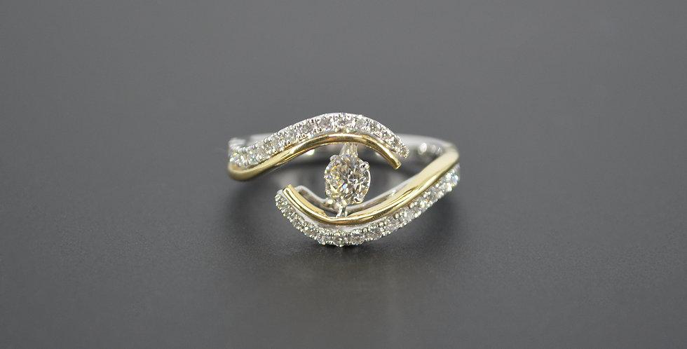 Yin To My Yang Diamond Ring