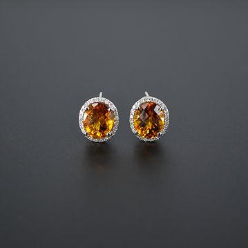 citrine 5 diamond 0.35 earrings b.jpg