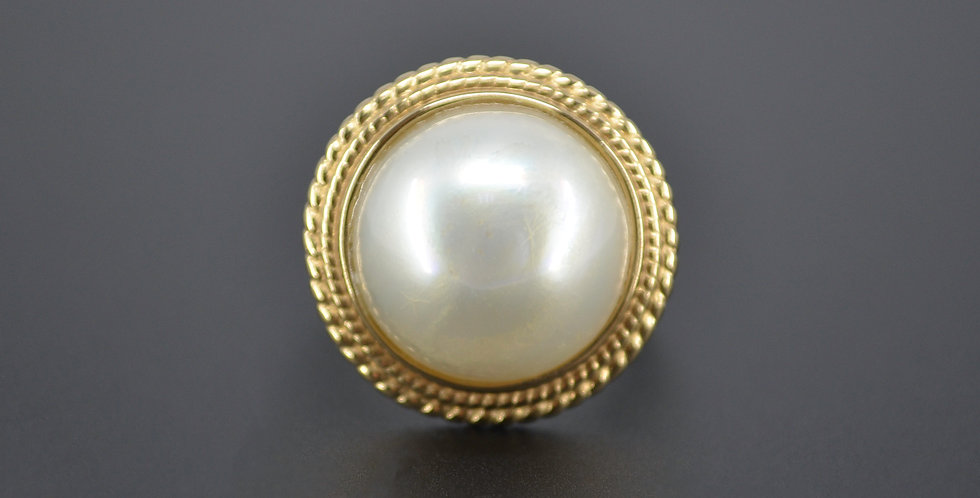 Rope & Pearl Ring