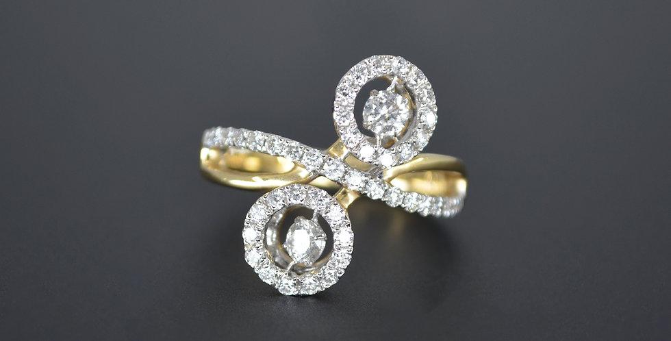 Confetti Diamond Ring