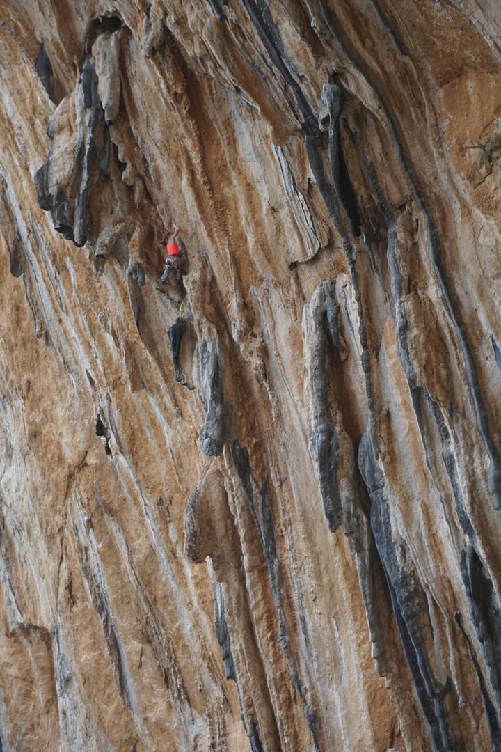 Climbing at Datca