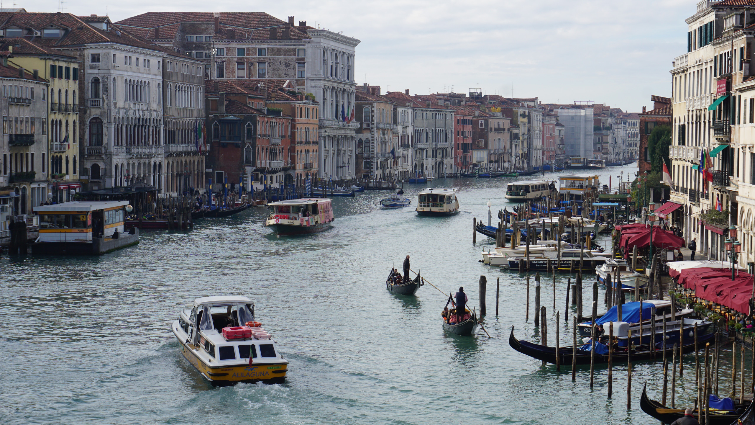 A view down the Grand Canal