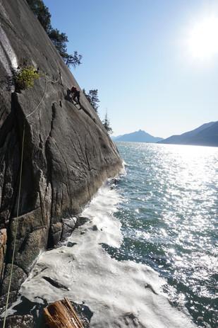 Cragging near Squamish