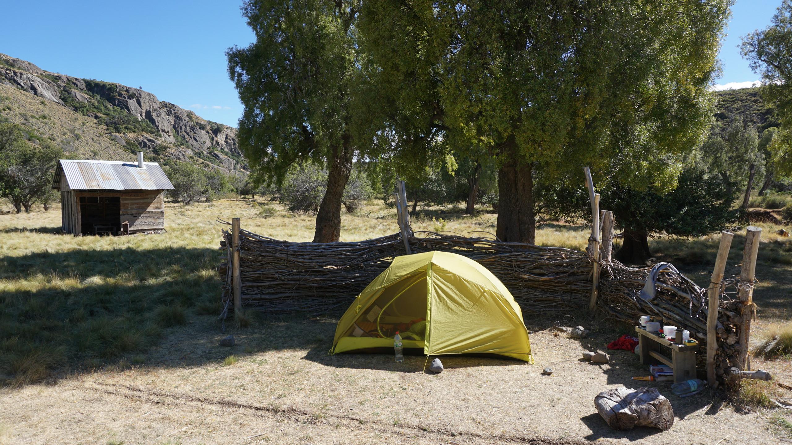 Camping at Maitenal