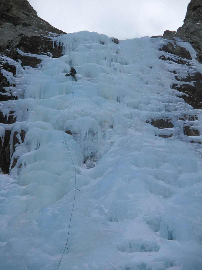"""Nearing the top of a """"thin"""" Cali Ice"""