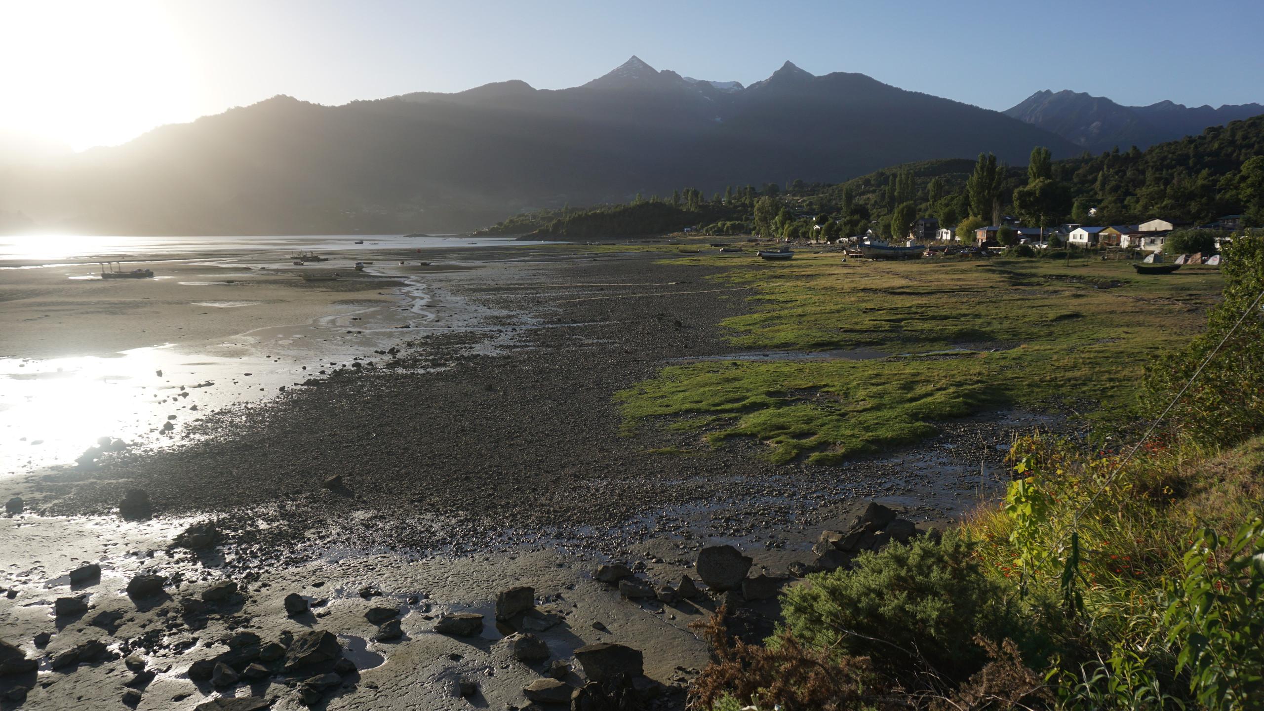 The fishing village of Cochamo