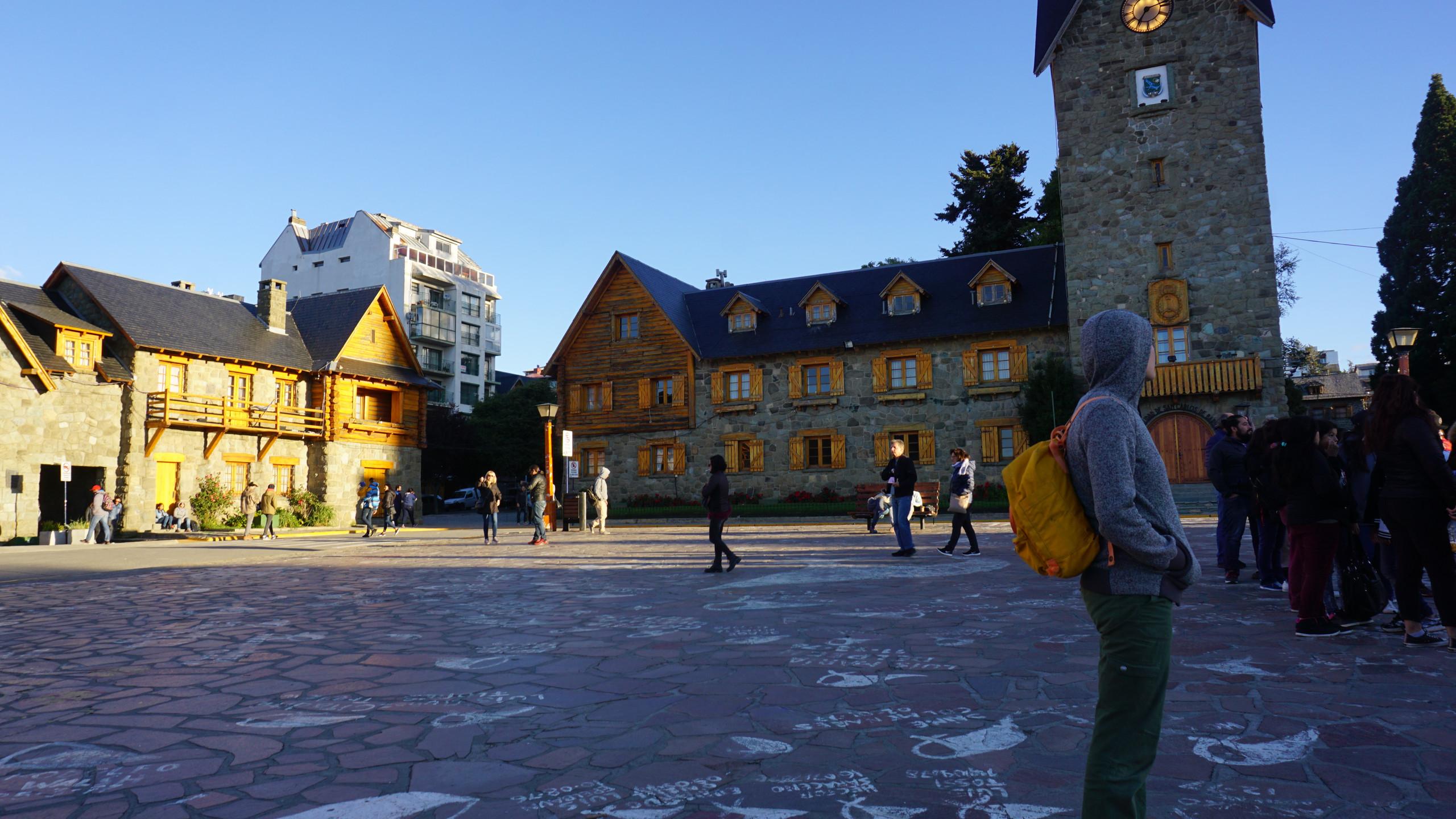 Bariloche's European inspired architecture