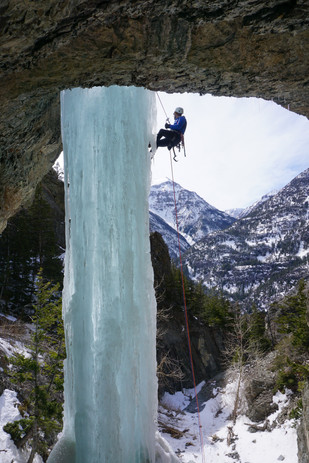 One of the many pillars in the South Fork