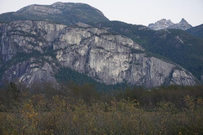 The Stawamus Chief, centerpiece to Squamish rock climbing