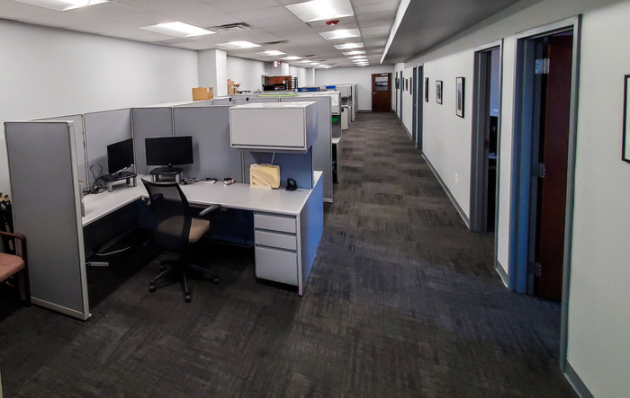 Open Cubicle Space