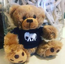 Big Paw logo Teddy Bear