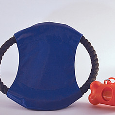 Dog Disc Toy & Waste Bag Holder