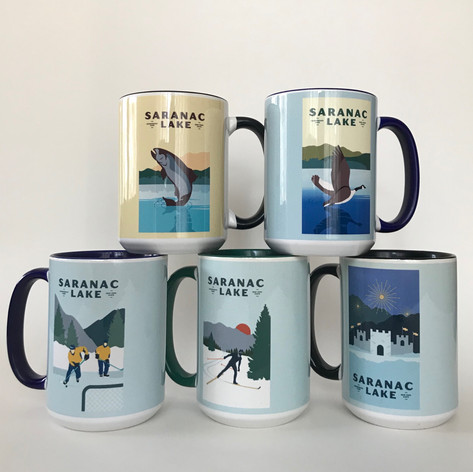 15 oz Ceramic Mugs