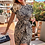 Thumbnail: AX Paris Khaki Animal Print Dress