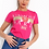 Thumbnail: L'Amour Paris Slogan Print With Glitter Detail