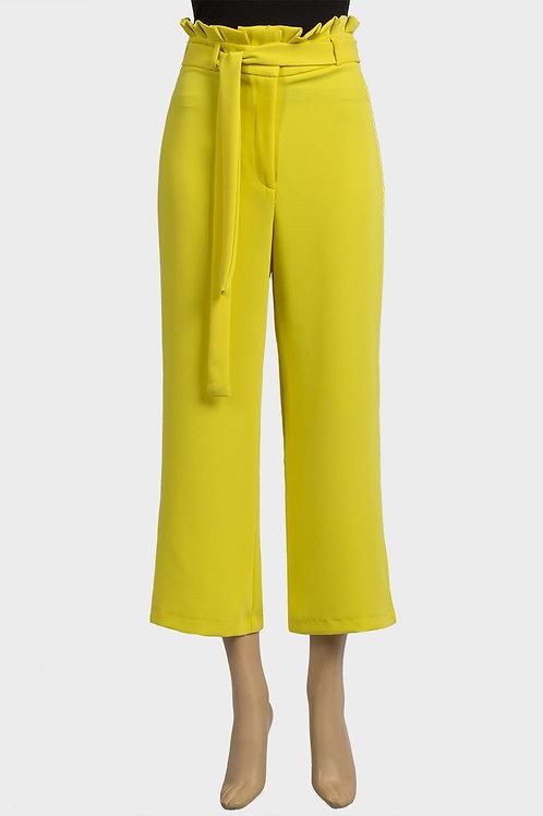 Yellow Paper Bag Cullottes
