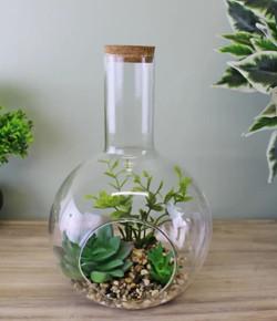 glass planter