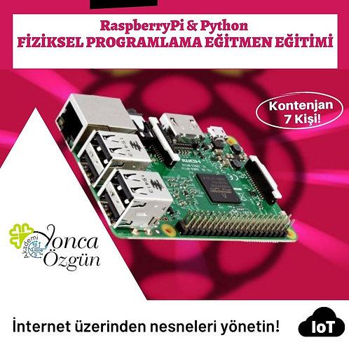 Raspberry Pi & Python Fiziksel Programlama Eğitmen Eğitimi