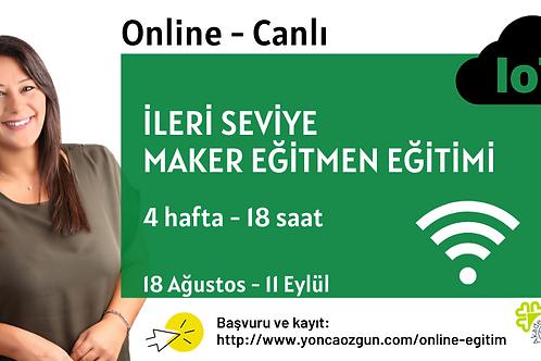 Online İleri Seviye Maker Eğitmen Eğitimi
