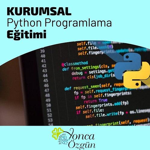Kurumsal Python Programlama Eğitimi