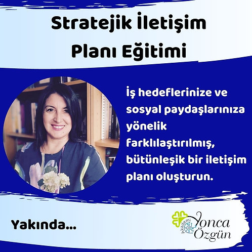 Stratejik İletişim Planı Eğitimi