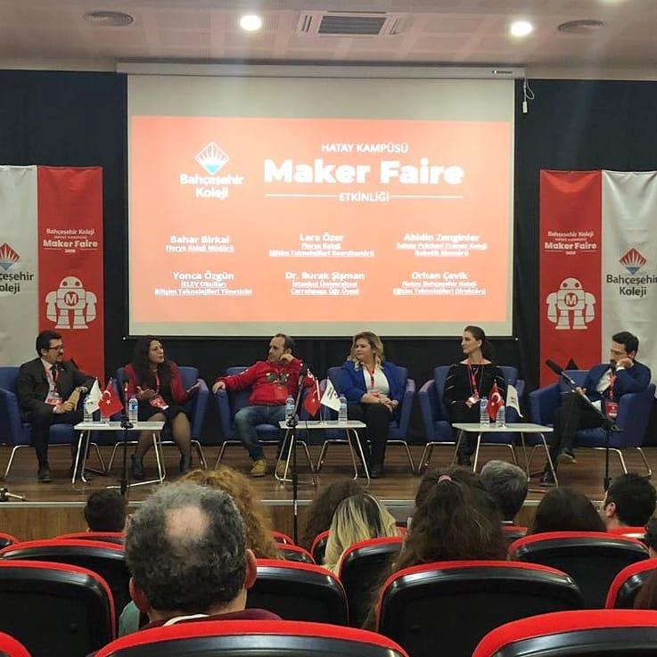 Bahçeşehir Maker Faire Panel