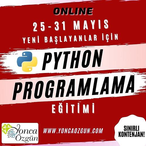 Python Programlama Eğitimi